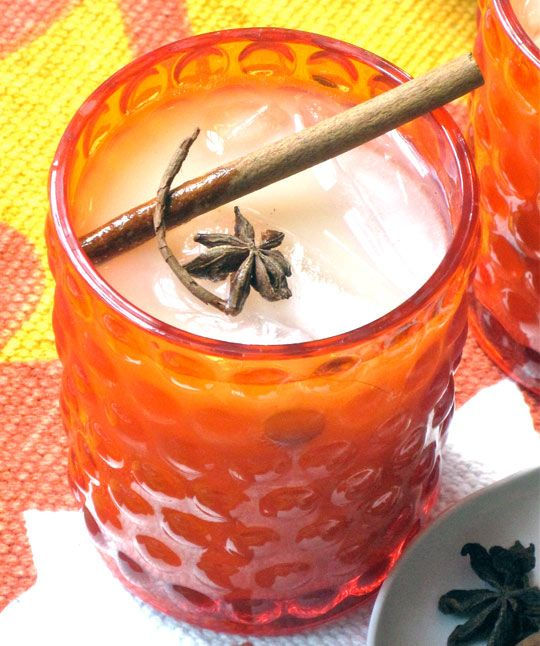 Spiked Iced Soy Chai Tea; we shall have to try this @Jessica Teaff and ...