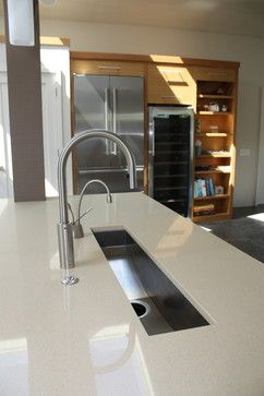 Long Kitchen Sink : Long Kitchen Sink in Island MADISON VALLEY Pinterest