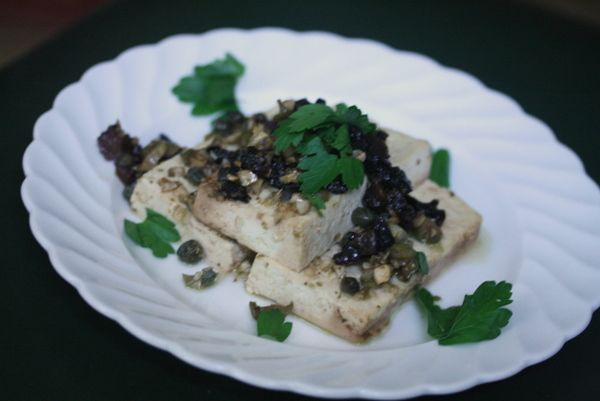 Tofu Marbella | Tofu dishes | Pinterest