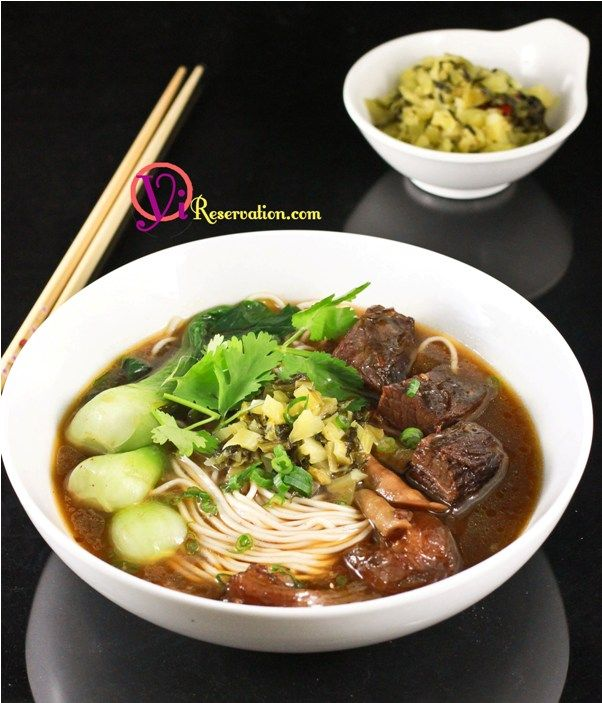 Spicy Beef Noodle Soup Recipe (四川紅燒牛肉麵) | Recipes- Soups ...
