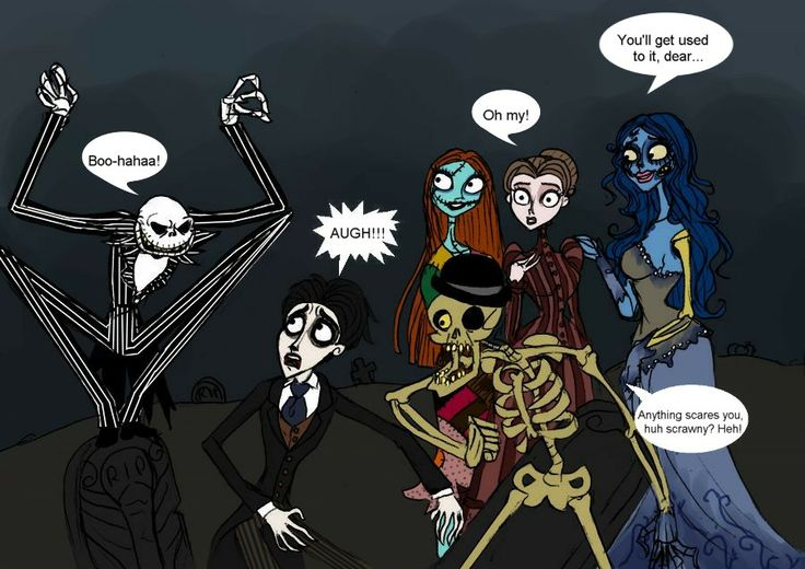 Nightmare before Christmas and The corpse bride crossover