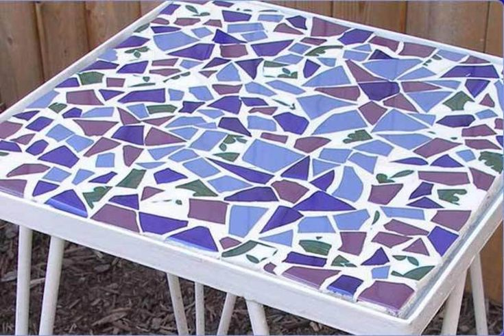 Pin by autumn watts on outdoor spaces gardening pinterest for Mosaic coffee table designs