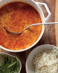 Coconut-Curry Noodle Soup | Recipe