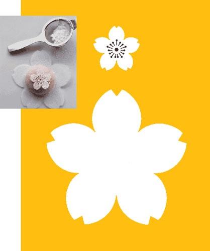 Cherry Blossom Stencil | Cherry Blossom - Sakura | Pinterest