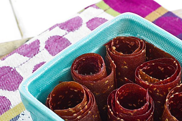 raspberry peach fruit leather (yes, you can make fruit leather without ...