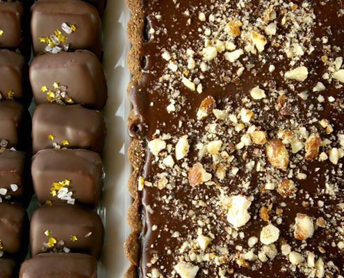Chocolate,Banana and Caramel Tart. Bria Helgerson was looking for ...