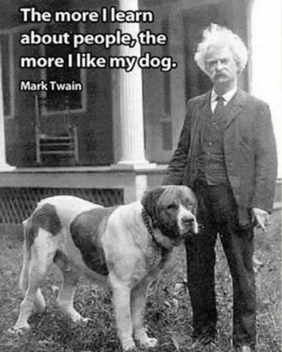 Found on scontent-a-atl xx fbcdn netMark Twain Quotes Dog