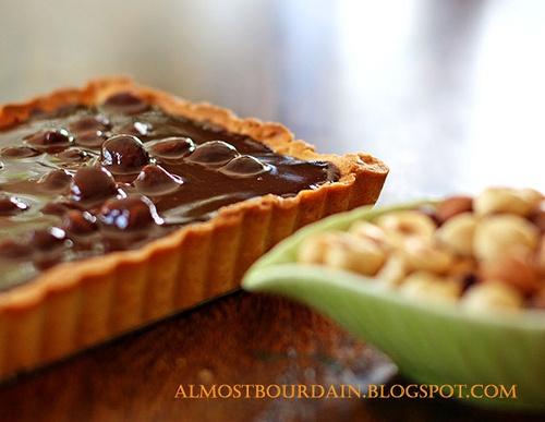 Chocolate Hazelnut Tart | Food - cake, pies, tarts and slices | Pinte ...