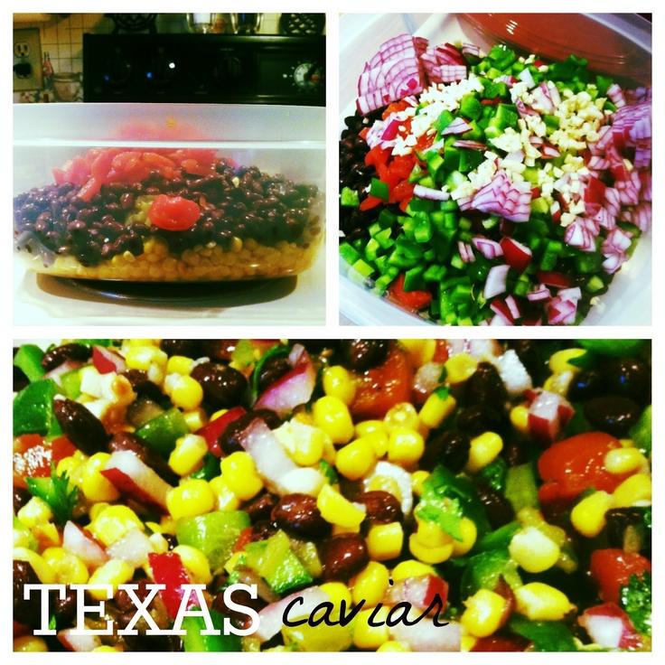 ... caviar cowboy caviar chopped salad texas caviar with avocado recipe