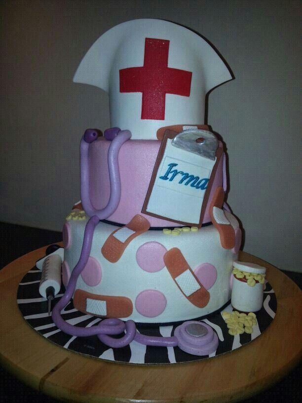 Nurse birthday Cake Cakes Pinterest