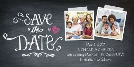 Walgreens save the date