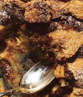Dulce de Leche and Chocolate Chunk Bread Pudding | Recipe