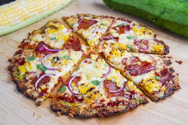 Zucchini Pizza Crust- | Favorite Recipes | Pinterest