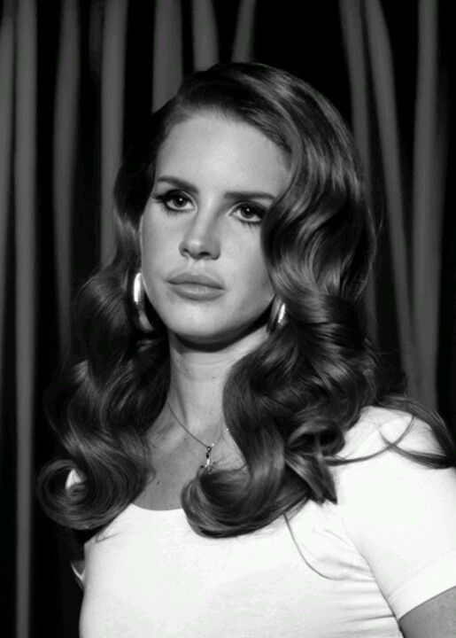 lana del rey hairstyle curls - photo #6