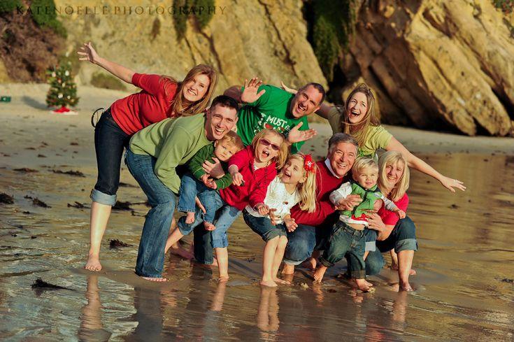 Unique Family Beach Photography Unique Family Christma...