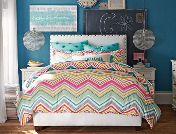 Chevron Rainbow Bedding For Calynn Pinterest