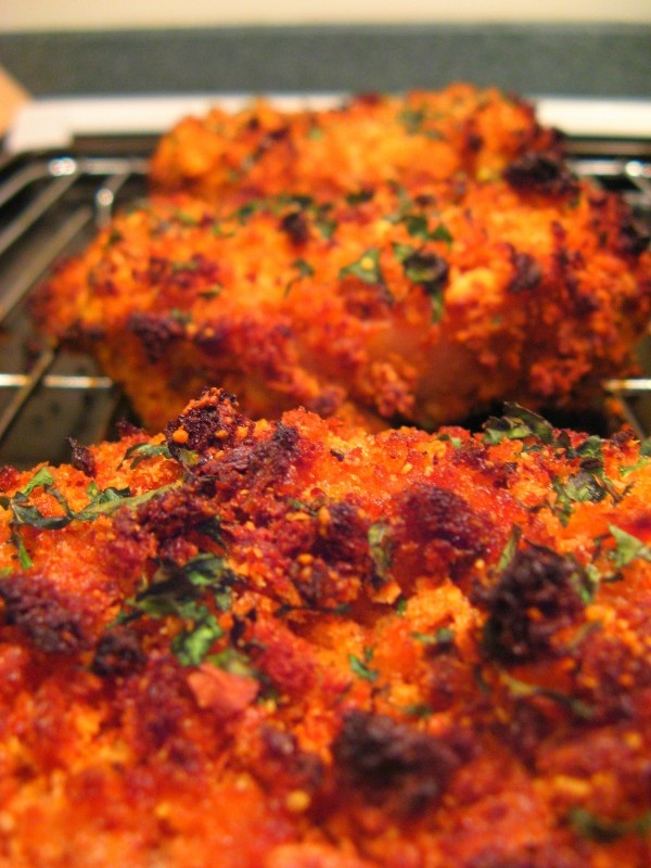 Crunchy Baked Pork Chops | food | Pinterest