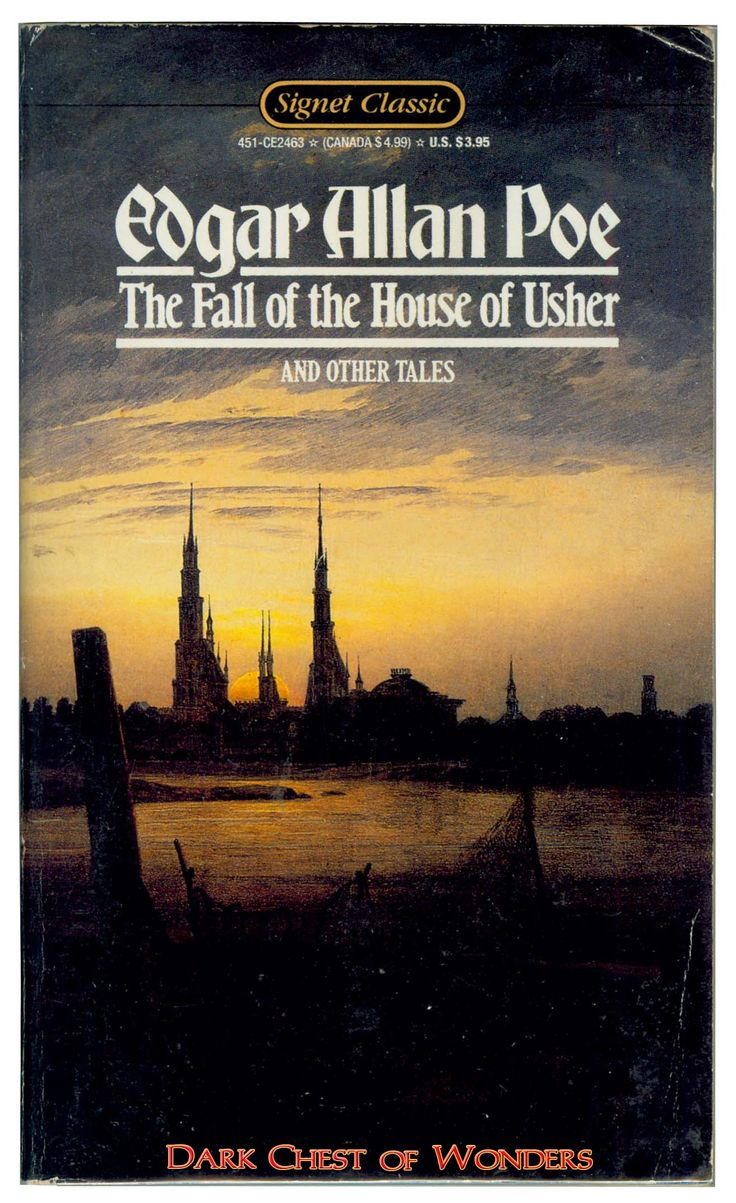 an essay on the imagery in the fall of the house of usher by edgar allan poe The fall of the house of usher is acclaimed as one of edgar allan poe's greatest works poe uses symbolism and analogies in both characters and setting to tell this gothic tale of death and downfall.