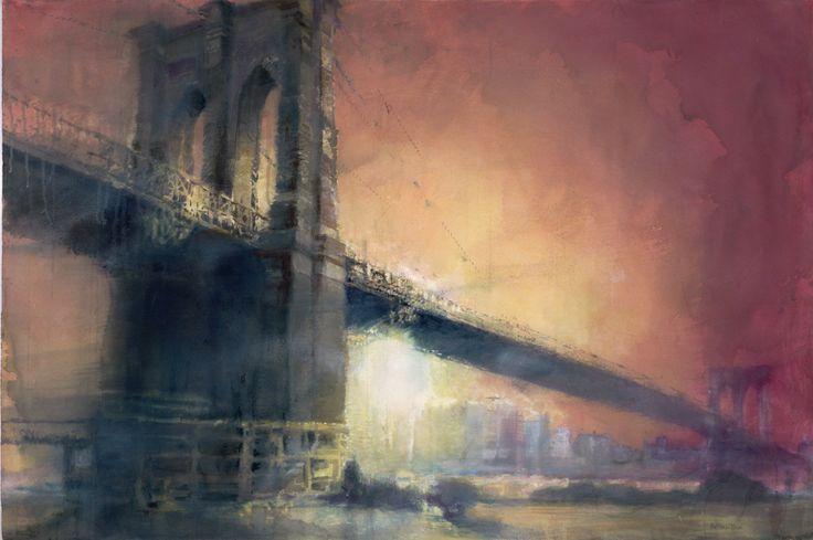 New York Painting Bridge antonio masi - | a tim...