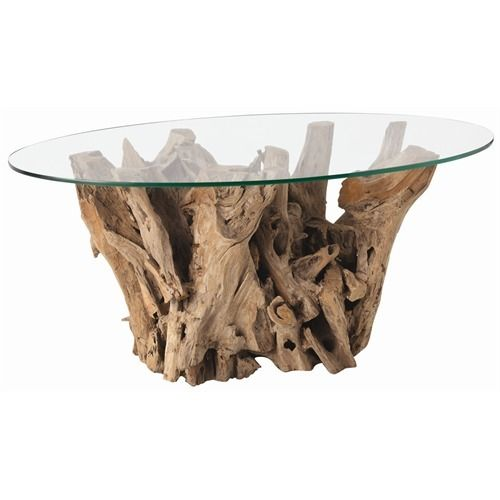 Driftwood And Glass For A Coffee Table Sustain Pinterest