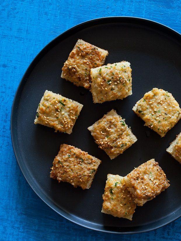 Shrimp Toast Nuggets | Appetizers | Pinterest