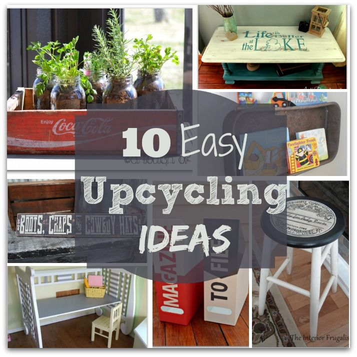 10 easy upcycling ideas