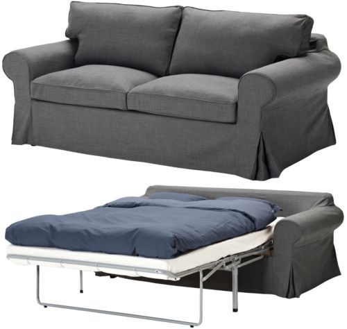ikea ektorp sofabed cover removable 2 seat sofa bed