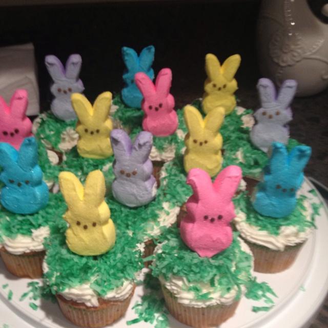 Easter Cupcakes for School Easter-Egg Hunt Celebration