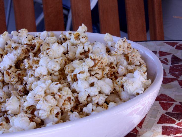 BBQ popcorn | Food Ideas | Pinterest