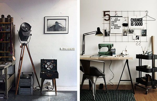 Arredamento Industriale Vintage Roma : Pin by design insanity on ...