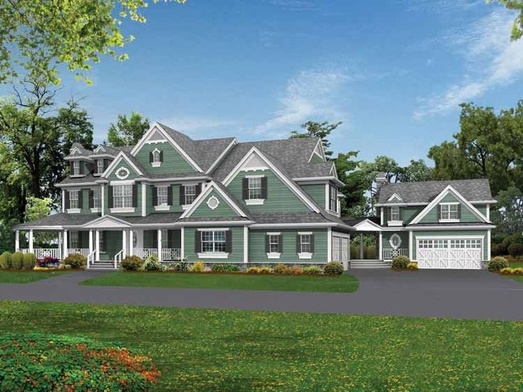 ... Around Porch also Narrow Lot House Floor Plans. on house plans eplans