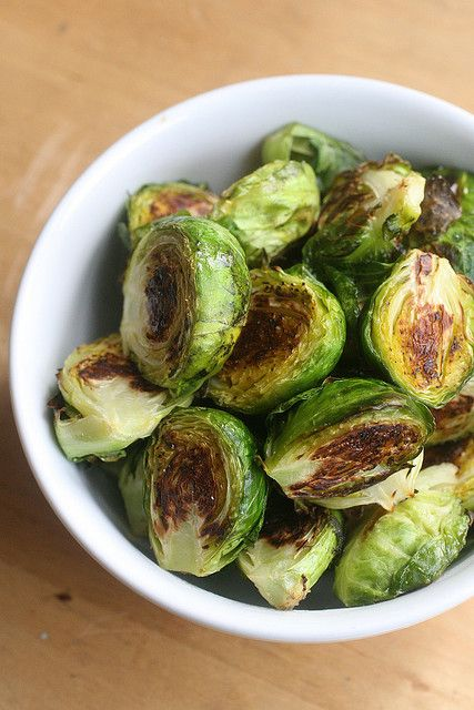 Roasted Brussel Sprouts | A Clean Lunch/Dinner | Pinterest