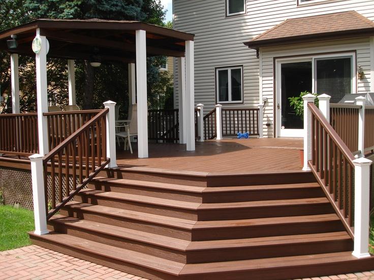 Best Angle Stairs Decks Patio Pinterest 400 x 300