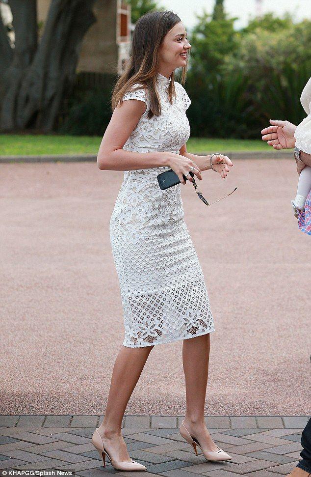Miranda Kerr Christening of a friend's baby in Newcastle May 17 2014