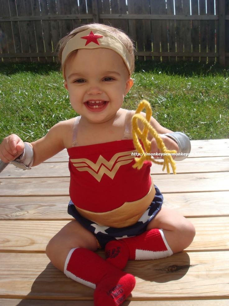 Diy Baby Wonder Woman Costume Mary Ann