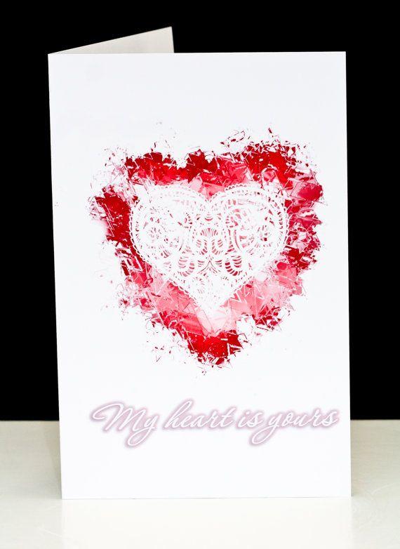 valentine's day card art