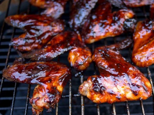 Grilled Korean Chicken Wings | Food and Drink | Pinterest