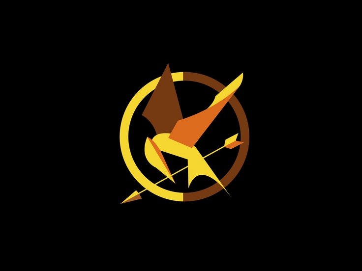 Catching Fire Mockingjay Symbol Outline Brds Clipart Mockingjay