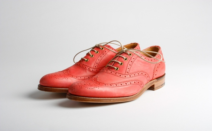 Martha. Women's wing tip brogue oxford