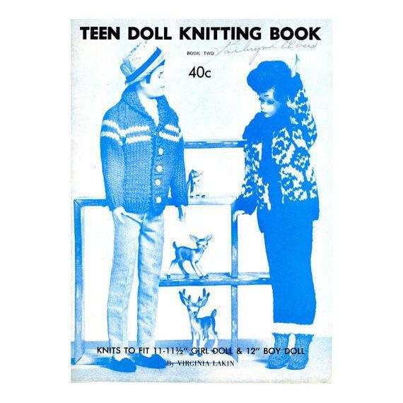 Vintage knitting pattern books wish others