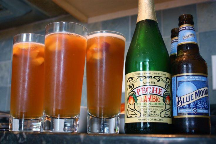 beer sangria (lambic and wheat beer) | Drinks | Pinterest