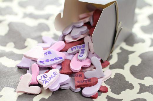Homemade Candy Conversation Hearts Challenge #kitchenaid #moretomake