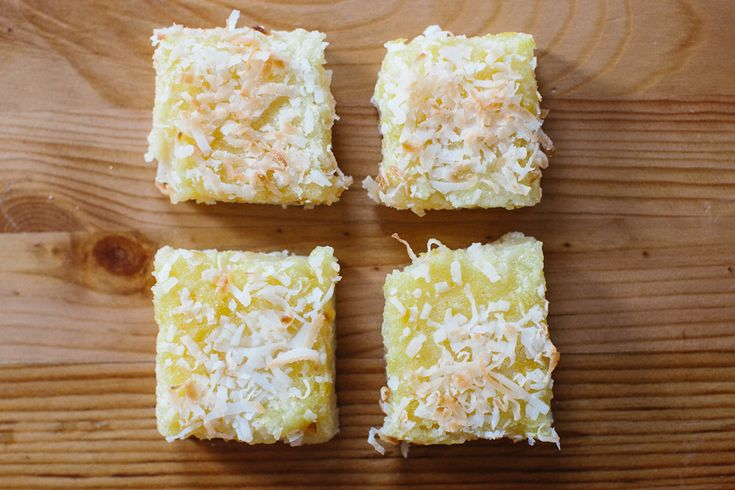 Coconut-Lemon Bars | Food & Drinks | Pinterest