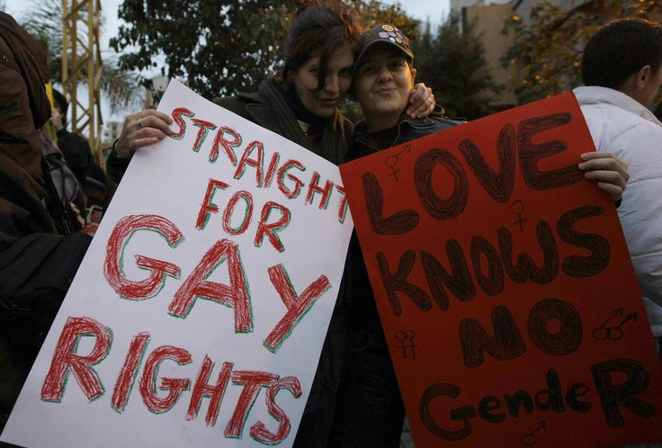 Straights for gay rights! Amen!