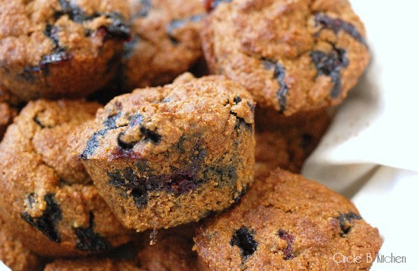Blueberry Molasses Bran Muffins {or, in the Fall, apple + dried ...