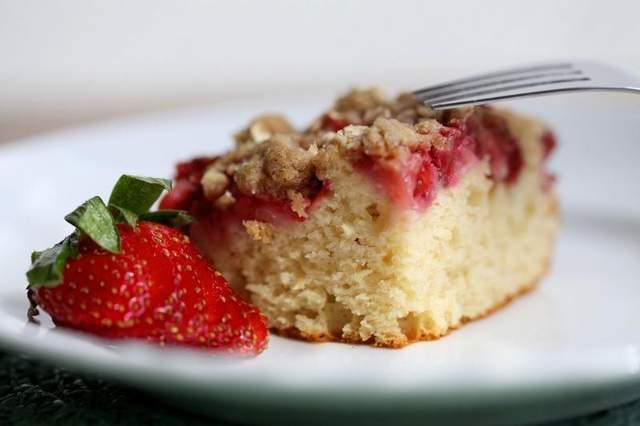 Strawberry Coffee Cake | Sweet Tooth | Pinterest