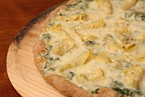 Spinach Artichoke Pizza | Pizza, Please! | Pinterest