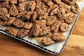 Sugar & Spice Candied Pecans | Recipe