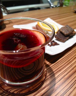 Spiced Gløgg with Port Wine and Cointreau...another warm winter drink ...