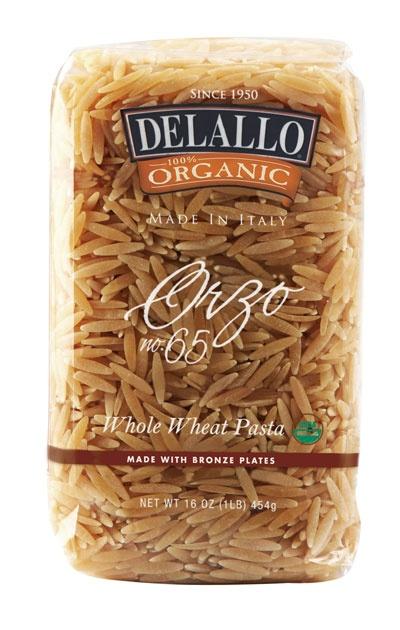 Whole grain orzo